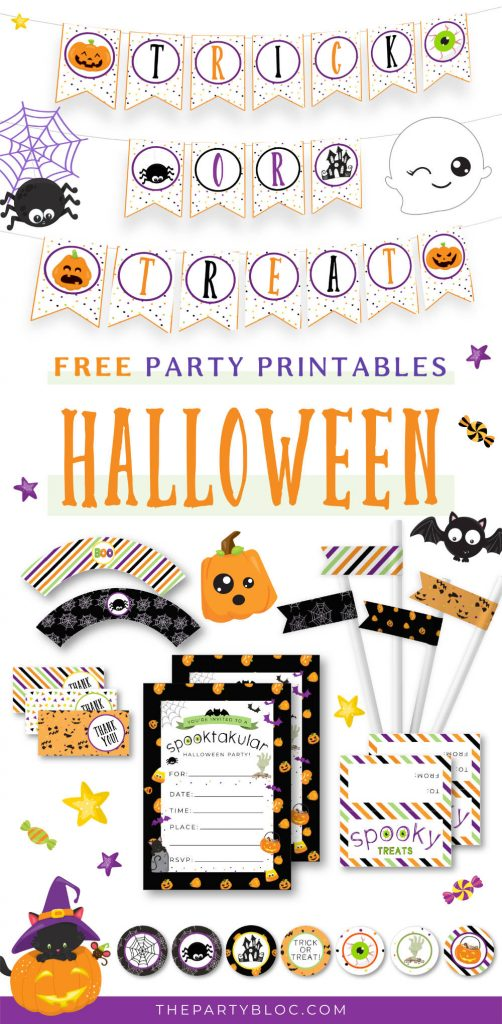 Free Halloween Party Printable Pack