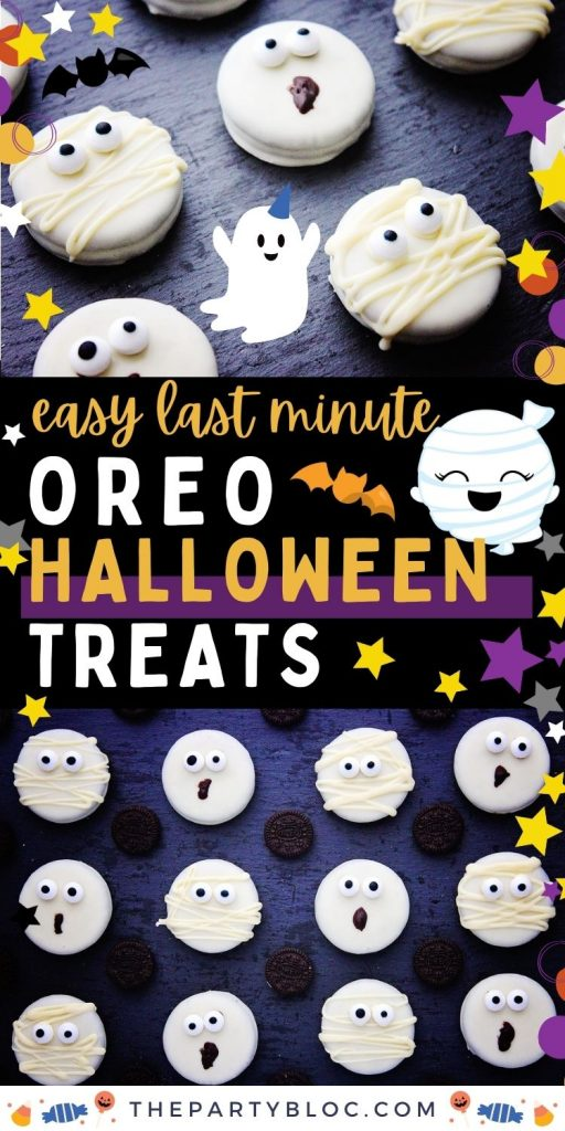 Easy Last Minute Halloween Oreo Treats